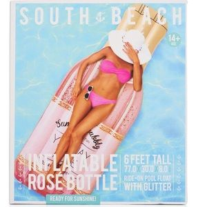 NEW✨ Rosé All Day Glitter Inflatable Pool Float